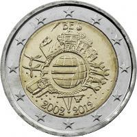 Belgien 2 Euro 2012 Euro-Bargeld
