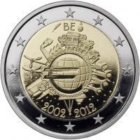 Belgien 2 Euro 2012 Euro-Bargeld PP