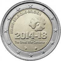 Belgien 2 Euro 2014 100 Jahre 1. Weltkrieg