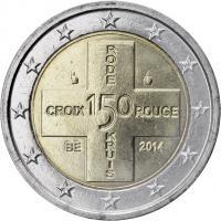 Belgien 2 Euro 2014 150 Jahre Rotes Kreuz