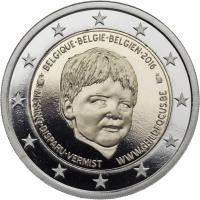 "Belgien 2 Euro 2016 Organisation ""Childfocus"" PP"