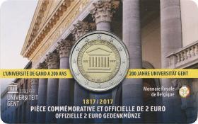 Belgien 2 Euro 2017 200 Jahre Universität Gent (wallon.)