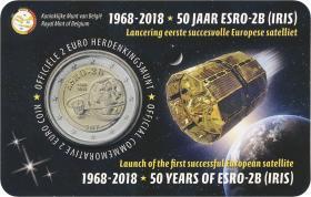 Belgien 2 Euro 2018 50 Jahre ESRO-2B (fläm.)