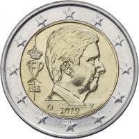 Belgien 2 Euro 2019 Kursmünze