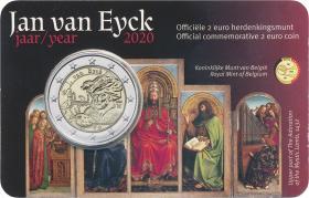 Belgien 2 Euro 2020 Jan van Eyck (fläm.)