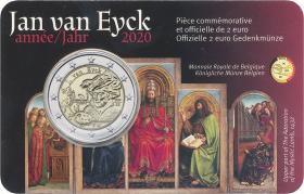 Belgien 2 Euro 2020 Jan van Eyck (wall.)