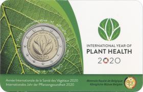 Belgien 2 Euro 2020 Internat. Jahr der Pflanzengesundheit (wall.)