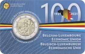 Belgien 2 Euro 2021 Belgisch-Luxemburgische Wirtschaftsunion (fläm.)