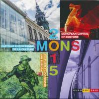 Belgien Euro-KMS 2015 Mons - Europäische Kulturhauptstadt 2015