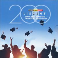 Belgien Euro-KMS 2017 200 Jahre Universitäten Lüttich und Gent