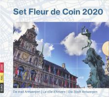 """Belgien Euro-KMS 2020 """"Fleur de Coin"""""""