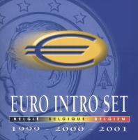 Belgien Euro-KMS 1999, 2000, 2001