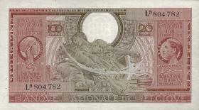 Belgien / Belgium P.123 100 Francs = 20 Belgas 1943 (2)