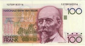 Belgien / Belgium P.142 100 Francs (1962-94) (1/1-)