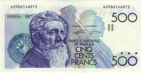 Belgien / Belgium P.143 500 Francs (1982-98) U4-13 (1)