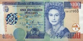 Belize P.65 100 Dollars 1997 (1)