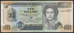 Belize P.59 10 Dollars 1996 (1)
