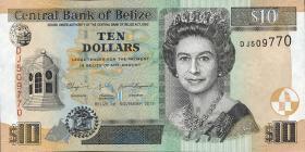 Belize P.68d 10 Dollars 2011 (1)