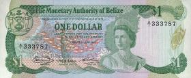 Belize P.38 1 Dollar 1980 (1)