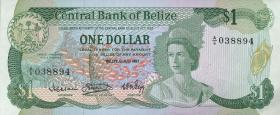 Belize P.46a 1 Dollar 1983 (1)