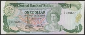 Belize P.43 1 Dollar 1983 (1)