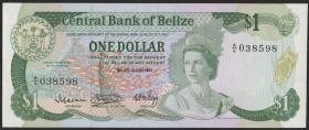 Belize P.43 1 Dollar 1983 (1)