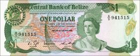Belize P.46b 1 Dollar 1986 (1)