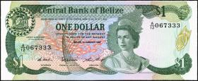 Belize P.46c 1 Dollar 1987 (1)