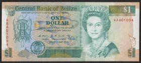 Belize P.51 1 Dollar 1990 (1)