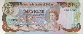 Belize P.41 25 Dollars 1980 (1)