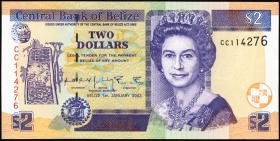 Belize P.60b 2 Dollars 2002 (1)