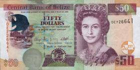 Belize P.70c 50 Dollars 2009 (1)