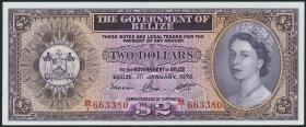 Belize P.34c 2 Dollars 1976 (1)