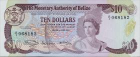 Belize P.40 10 Dollars 1980 (1)