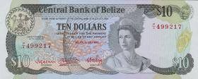 Belize P.44 10 Dollars 1983 (1)