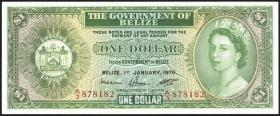 Belize P.33c 1 Dollar 1976 (1)