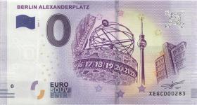 0 Euro Souvenir Schein Berlin - Alexanderplatz (1)