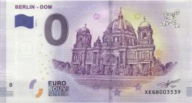 0 Euro Souvenir Schein Berliner Dom (1)