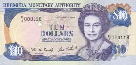 Bermuda P.42b 10 Dollars 1996 (1)