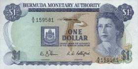Bermuda P.28d 1 Dollar 1988 (1)