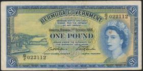 Bermuda P.20d 1 Pound 1966 (3-)