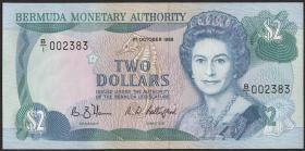 Bermuda P.34a 2 Dollars 1988 (1)