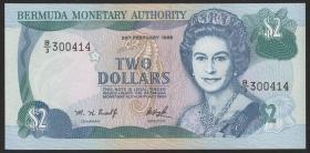 Bermuda P.40Aa 2 Dollars 1996 (1)