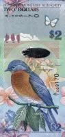 Bermuda P.57b 2 Dollars 2009 (2018) A/2 (1)