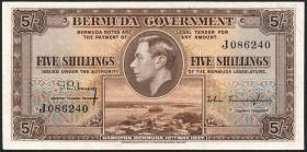 Bermuda P.08a 5 Shillings 1937 (2)