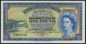 Bermuda P.20d 1 Pound 1966 (1)