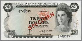 Bermuda P.31s 20 Dollars 1984 (1) SPECIMEN