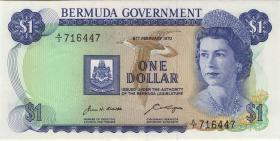 Bermuda P.23 1 Dollar 1970 A-3 (2)