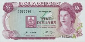 Bermuda P.24a 5 Dollars 1970 A-2 (1)