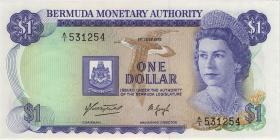 Bermuda P.28a 1 Dollar 1975 (1)